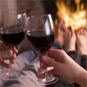 intimate night by the fire romantic valentines day idea