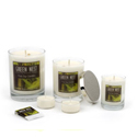 eco friendly gift green nest candle